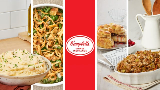 To Combat 2020's Unpredictability, Campbell's Offers 'Dinner Insurance' This Thanksgiving