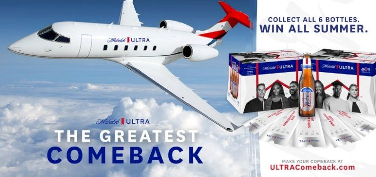 Michelob Ultra celebrates return to live sports with sweepstakes