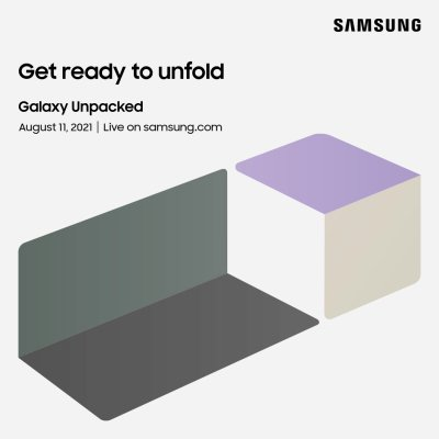 Samsung will announce new foldables on August 11