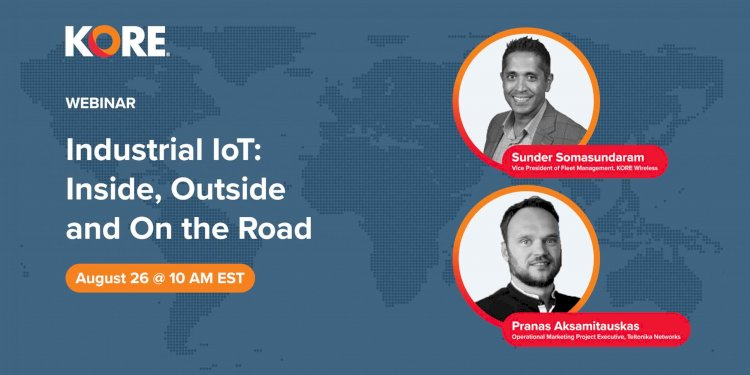 Industrial IoT: Inside, Outside and On the Road